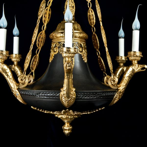 Dd antiques gallery a fine antique french empire chandelier a fine antique french empire chandelier mozeypictures Choice Image