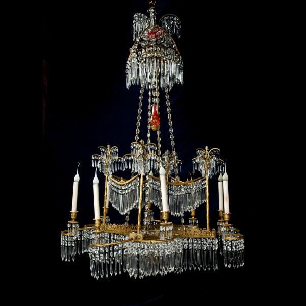 Dd antiques gallery a spectacular antique period russian palm a spectacular antique period russian palm tree chandelier aloadofball Choice Image